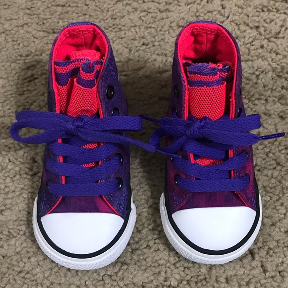 Converse Other - Toddler Girls Converse Sneakers 7b5a3cf27
